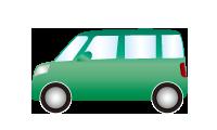レンタカー ハイルーフ軽自動車