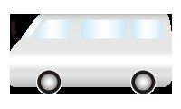 レンタカー 送迎車両
